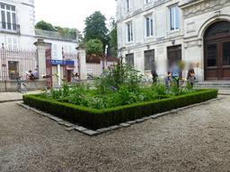 Jardin de la Maison Henry II à La Rochelle. Source : http://data.abuledu.org/URI/5821eb3b-jardin-de-la-maison-henry-ii-a-la-rochelle
