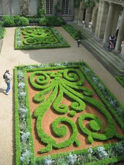 Jardin du Musée Carnavalet. Source : http://data.abuledu.org/URI/548b4f2c-jardin-du-musee-carnavalet