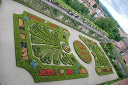 Jardin du Palais de la Berbie à Albi. Source : http://data.abuledu.org/URI/596d71c1-jardin-du-palais-de-la-berbie-a-albi