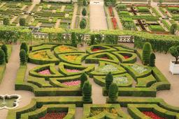 Jardins de Villandry. Source : http://data.abuledu.org/URI/55e6bd6b-jardins-de-villandry