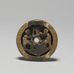 Jeton médiéval allemand. Source : http://data.abuledu.org/URI/50fb0a4b-jeton-medieval-allemand