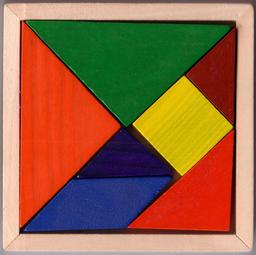 Jeu de tangram en bois. Source : http://data.abuledu.org/URI/52f68f79-jeu-de-tangram-en-bois