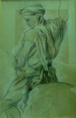 Jeune fauconnier de Fromentin. Source : http://data.abuledu.org/URI/5821f5ba-jeune-fauconnier-de-fromentin