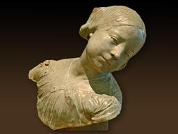 Jeune fille à la tête penchée. Source : http://data.abuledu.org/URI/549dfac6-jeune-fille-a-la-tete-penchee