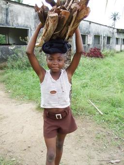 Jeune porteuse de bois malgache. Source : http://data.abuledu.org/URI/58c88718-jeune-porteuse-de-bois-malgache