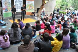 Jeunes conteurs espagnols. Source : http://data.abuledu.org/URI/53c81ad7-jeunes-conteurs-espagnols