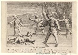 Jeux d'enfants sur un étang gelé en 1675. Source : http://data.abuledu.org/URI/53c93eb3-jeux-d-enfants-sur-un-etang-gele-en-1675