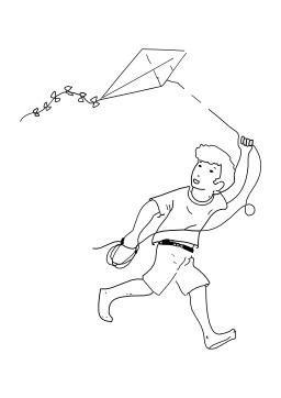 Jouer au cerf-volant. Source : http://data.abuledu.org/URI/5026b7a9-jouer-au-cerf-volant