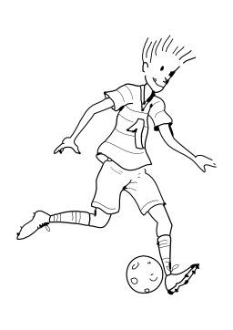 Jouer au football. Source : http://data.abuledu.org/URI/5026b7d9-jouer-au-football