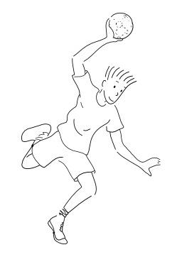 Jouer au handball. Source : http://data.abuledu.org/URI/5026b845-jouer-au-handball