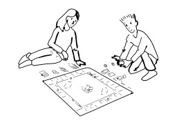 Jouer au monopoly. Source : http://data.abuledu.org/URI/5026b85b-jouer-au-monopoly