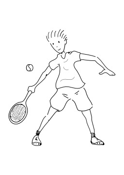 Jouer au tennis. Source : http://data.abuledu.org/URI/5026b809-jouer-au-tennis