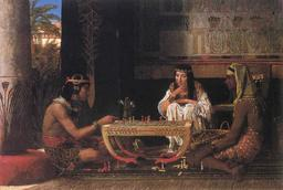 Joueurs d'échecs égyptiens. Source : http://data.abuledu.org/URI/50733b10-joueurs-d-echecs-egyptiens
