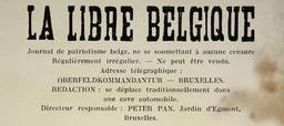 Journal clandestin belge en 1942. Source : http://data.abuledu.org/URI/53590370-journal-clandestin-belge-en-1942