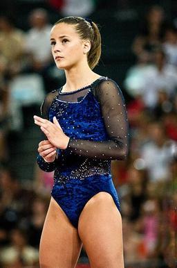 Justaucorps de gymnastique artistique. Source : http://data.abuledu.org/URI/50fc89ad-justaucorps-de-gymnastique-artistique