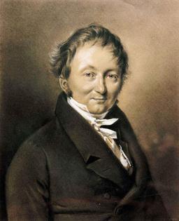 Portrait de Karl Drais. Source : http://data.abuledu.org/URI/5371f18c-karl-drais