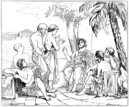 L'Académie de Platon. Source : http://data.abuledu.org/URI/5061cea3-l-academie-de-platon