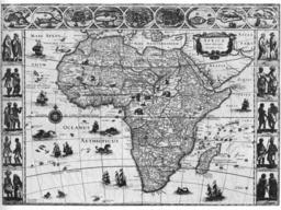 L'Afrique en 1648. Source : http://data.abuledu.org/URI/52d04d0c-l-afrique-en-1648