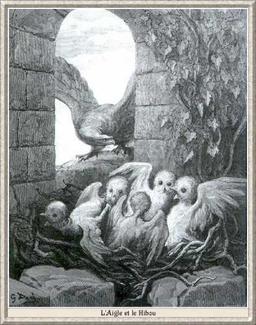 L'Aigle et le Hibou. Source : http://data.abuledu.org/URI/519ce4b6-l-aigle-et-le-hibou