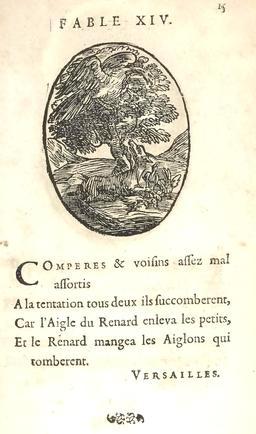 L'aigle et le renard. Source : http://data.abuledu.org/URI/591628bd-l-aigle-et-le-renard