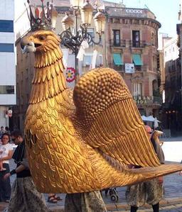 L'aigle géant de Valls. Source : http://data.abuledu.org/URI/51a86c73-l-aigle-geant-de-valls