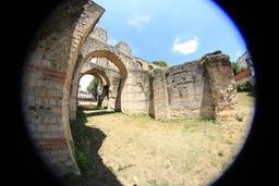L'amphithéâtre de Burdigala. Source : http://data.abuledu.org/URI/55afd76c-l-amphitheatre-de-burdigala