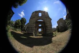 L'amphithéâtre de Burdigala. Source : http://data.abuledu.org/URI/55afd817-l-amphitheatre-de-burdigala