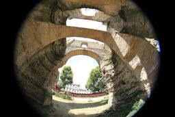 L'amphithéâtre de Burdigala. Source : http://data.abuledu.org/URI/55afd87e-l-amphitheatre-de-burdigala