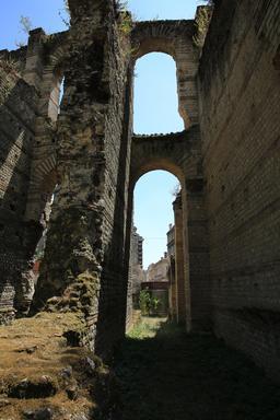 L'amphithéâtre de Burdigala. Source : http://data.abuledu.org/URI/55afd9aa-l-amphitheatre-de-burdigala