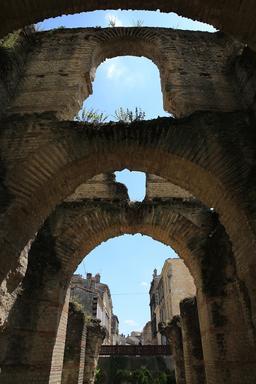 L'amphithéâtre de Burdigala. Source : http://data.abuledu.org/URI/55afe0cd--l-amphitheatre-de-burdigala