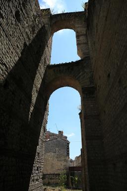 L'amphithéâtre de Burdigala. Source : http://data.abuledu.org/URI/55afe134--l-amphitheatre-de-burdigala