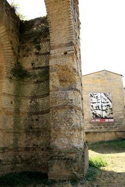 L'amphithéâtre de Burdigala. Source : http://data.abuledu.org/URI/55b01579-l-amphitheatre-de-burdigala