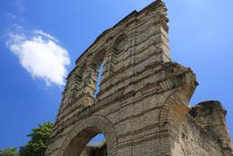 L'amphithéâtre de Burdigala. Source : http://data.abuledu.org/URI/55b015cf-l-amphitheatre-de-burdigala