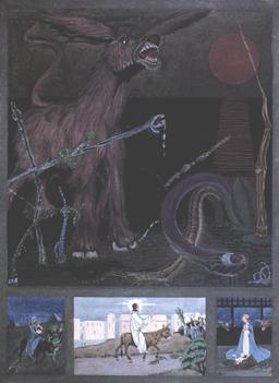 L'âne de Chesterton. Source : http://data.abuledu.org/URI/526e6d44-l-ane-de-chesterton