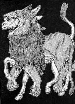 L'Âne vêtu de la peau du Lion. Source : http://data.abuledu.org/URI/519cb1c7-l-ane-vetu-de-la-peau-du-lion