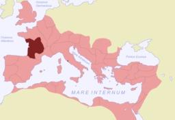 L'Aquitaine dans le monde romain. Source : http://data.abuledu.org/URI/50766a1d-l-aquitaine-dans-le-monde-romain