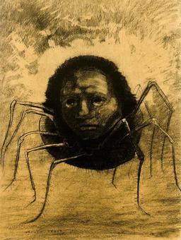L'araignée d'Odilon Redon. Source : http://data.abuledu.org/URI/5116bf23-l-araignee-d-odilon-redon