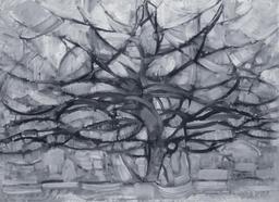 L'arbre gris de Mondrian en 1911. Source : http://data.abuledu.org/URI/54c4b3f3-l-arbre-gris-de-mondrian-en-1911