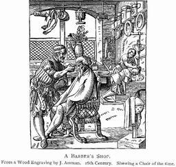L'échoppe du barbier. Source : http://data.abuledu.org/URI/47f5349e-l-echoppe-du-barbier