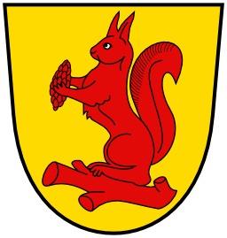 L'écureuil d'un blason allemand. Source : http://data.abuledu.org/URI/533f2d29-l-ecureuil-d-un-blason-allemand