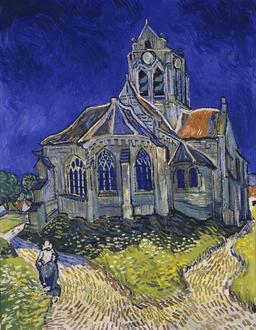 L'église d'Auvers-sur-Oise. Source : http://data.abuledu.org/URI/52b0978c-l-eglise-d-auvers-sur-oise