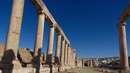L'extrémité nord du Cardo à Jerash. Source : http://data.abuledu.org/URI/54b533a7-l-extremite-nord-du-cardo-a-jerash-
