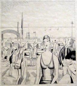 L'heure du bain dans les années 30. Source : http://data.abuledu.org/URI/5557b39e-l-heure-du-bain-dans-les-annees-30