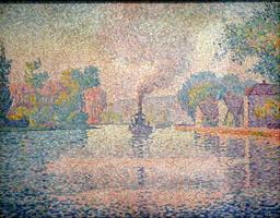 L'Hirondelle à vapeur sur la Seine. Source : http://data.abuledu.org/URI/51b8e397-l-hirondelle-a-vapeur-sur-la-seine