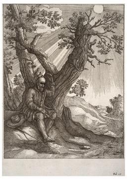 L'homme chauve et la mouche. Source : http://data.abuledu.org/URI/5193cfaf-l-homme-chauve-et-la-mouche