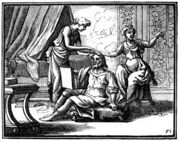 L'homme entre deux âges et ses deux maîtresses. Source : http://data.abuledu.org/URI/510c1102-l-homme-entre-deux-ages-et-ses-deux-maitresses