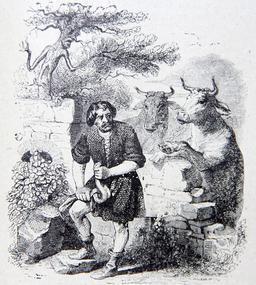 L'homme et la couleuvre. Source : http://data.abuledu.org/URI/51f989c2-l-homme-et-la-couleuvre