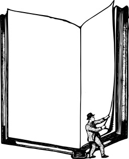 L'homme et le livre. Source : http://data.abuledu.org/URI/5480a8c5-l-homme-et-le-livre