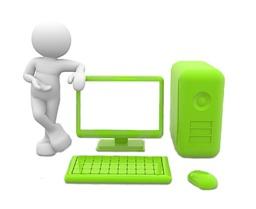 L'homme et son ordinateur. Source : http://data.abuledu.org/URI/58d1919d-l-homme-et-son-ordinateur