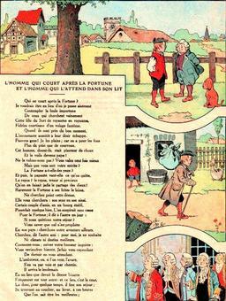 L'homme qui court après la fortune. Source : http://data.abuledu.org/URI/5197f932-l-homme-qui-court-apres-la-fortune